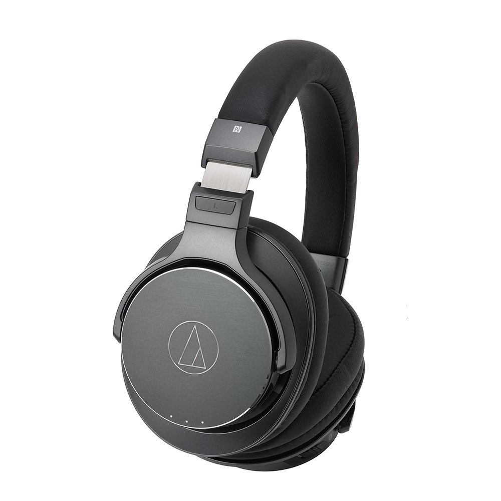 Image of Audio Technica HiRes (black)Bluetooth wireless headphones ATH-DSR9BT