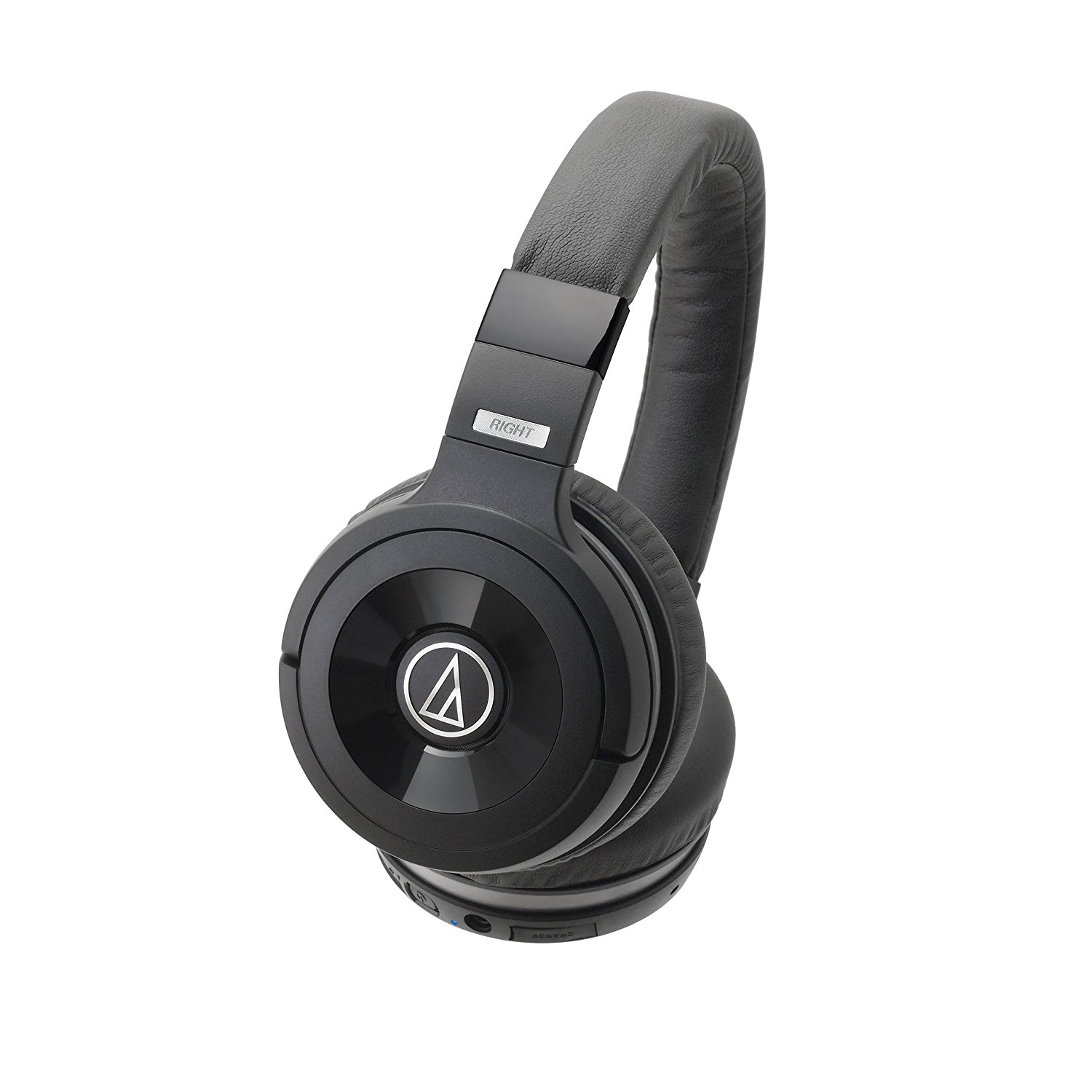 Image of Audio-Technica ATH-WS99BT Solid Bass Bluetooth Wireless Over-Ear Headphones with Built-In Mic & Control