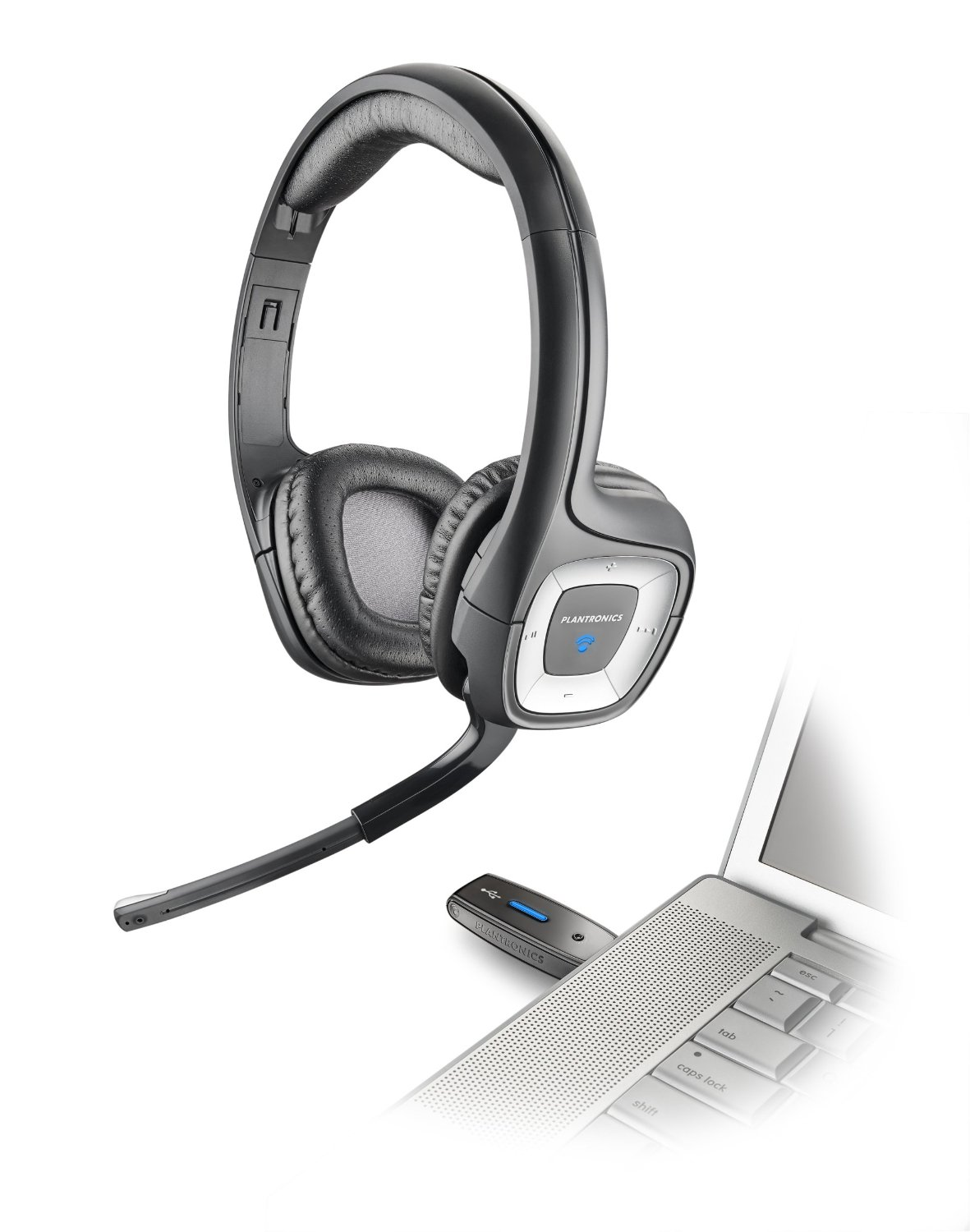 Image of Plantronics AUDIO 995 USB Multimedia Headset