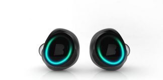 image of a true wireless earbuds