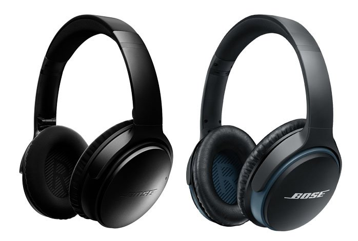 image of Bose QuietComfort 35 vs Bose SoundLink Around-Ear Wireless