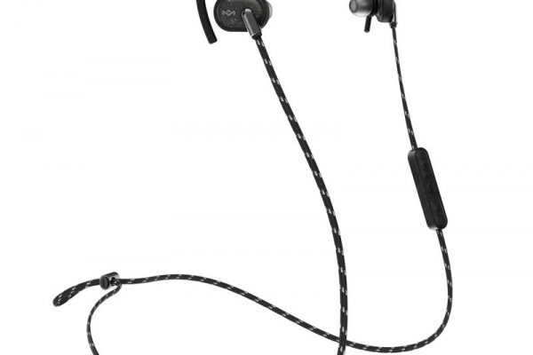 image of House of Marley's Uprise headphones in black.