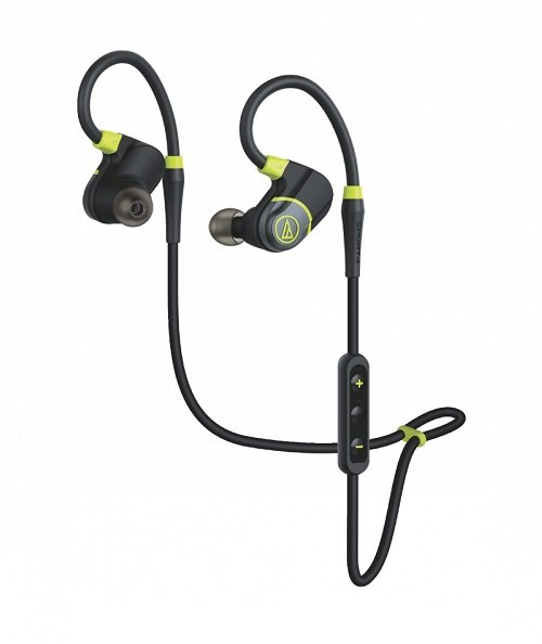 Image of Audio Technica ATH SPORT4BK SonicSport Bluetooth Headphones