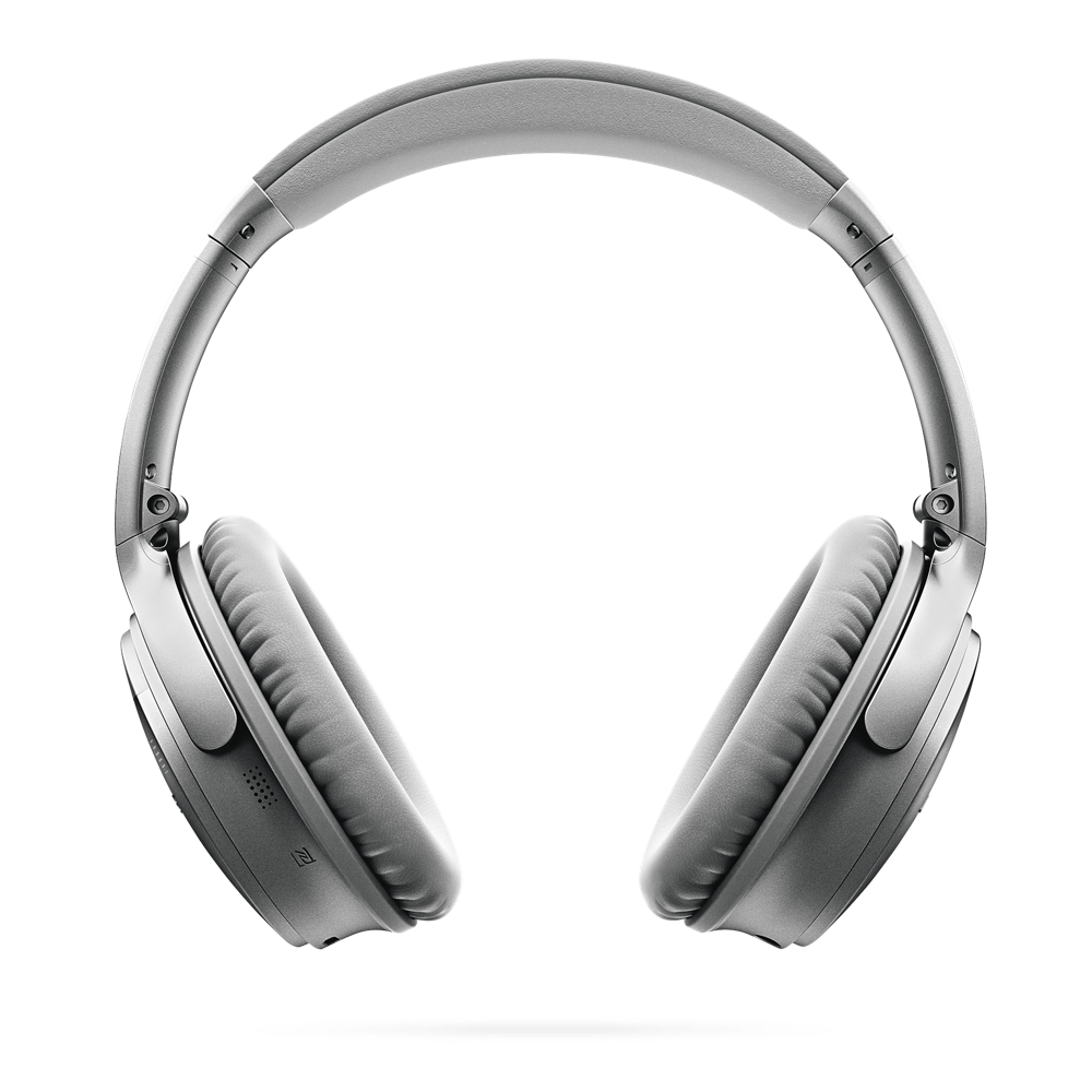 Image of Bose QuietComfort 35 Wireless Headphones, Silver