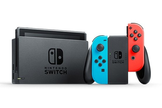 Nintendo Switch Red/Blue Docked