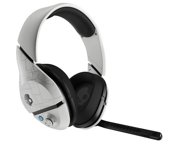 image of Skullcandy PLYR 1 White Headphone