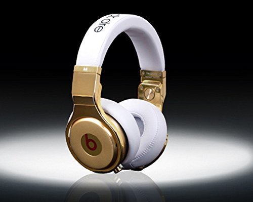 Dr. Dre Beats Pro 24ct Gold Plated
