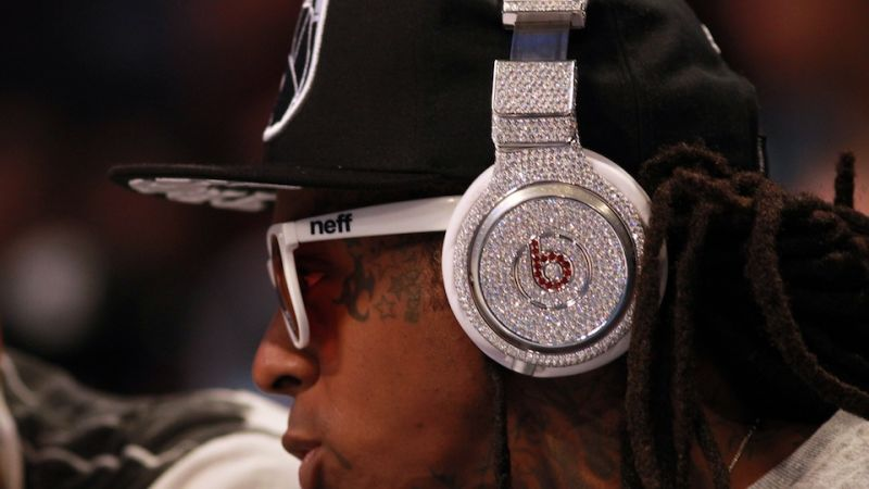 Lil Wayne's Diamond-Encrusted Beats