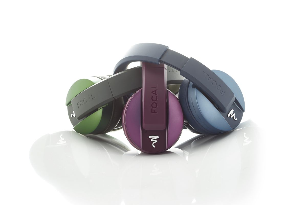 image of Focal's Listen Wireless headphones now come in olive, purple, and blue